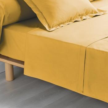Domov Plachty Douceur d intérieur PERCALINE Svetlá hnedá medová