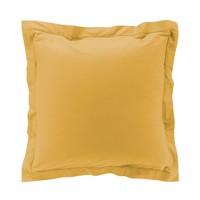 Domov Obliečky na vankúš Douceur d intérieur PERCALINE Svetlá hnedá medová