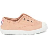 Topánky Deti Tenisová obuv Cienta Chaussures en toiles  Tintado rose clair