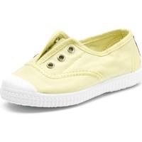 Topánky Deti Tenisová obuv Cienta Chaussures en toiles  Tintado jaune pastel