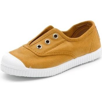 Topánky Deti Tenisová obuv Cienta Chaussures en toiles  Tintado camel