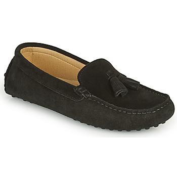 Topánky Ženy Mokasíny Casual Attitude GATO Čierna