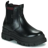 Topánky Ženy Polokozačky Buffalo ASPHA CHELSEA Čierna