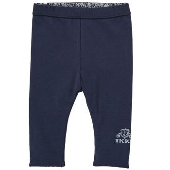 Oblečenie Dievčatá Legíny Ikks BOUTON D'OR Námornícka modrá