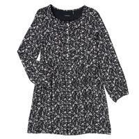 Oblečenie Dievčatá Krátke šaty Ikks MALACHITE Čierna