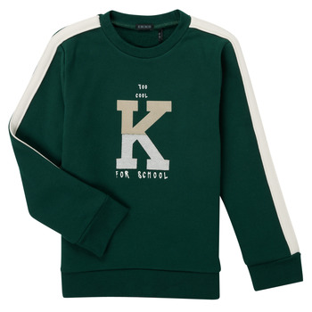 Oblečenie Chlapci Mikiny Ikks SINOPLE Kaki