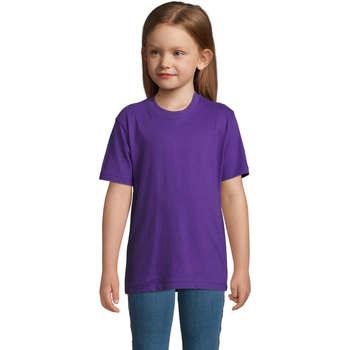 Oblečenie Deti Tričká s krátkym rukávom Sols Camista infantil color Morado Violeta