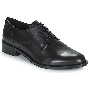 Topánky Ženy Derbie Minelli FRANCIA Čierna