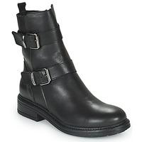 Topánky Ženy Polokozačky Minelli PAULINA Čierna