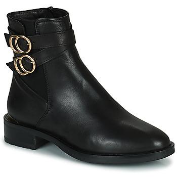 Topánky Ženy Polokozačky Minelli LISA Čierna