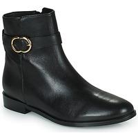Topánky Ženy Polokozačky Minelli FANNITA Čierna