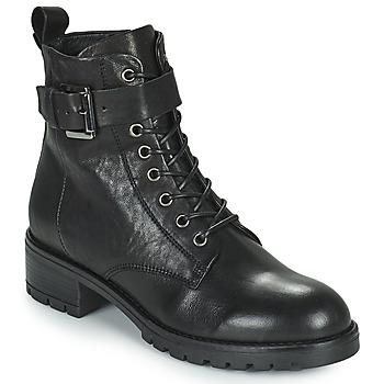Topánky Ženy Polokozačky Minelli NENITA Čierna