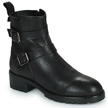 Topánky Ženy Polokozačky Minelli LISTERIA Čierna