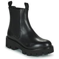 Topánky Ženy Polokozačky Minelli MANINA Čierna