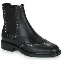 Topánky Ženy Polokozačky Minelli GERINA Čierna