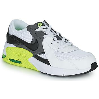 Topánky Deti Nízke tenisky Nike NIKE AIR MAX EXCEE (PS) Biela / Čierna