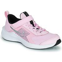 Topánky Deti Bežecká a trailová obuv Nike NIKE DOWNSHIFTER 11 (PSV) Ružová / Šedá