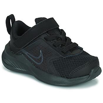 Topánky Deti Bežecká a trailová obuv Nike NIKE DOWNSHIFTER 11 (TDV) Čierna