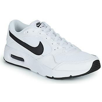 Topánky Deti Nízke tenisky Nike NIKE AIR MAX SC (GS) Biela / Čierna
