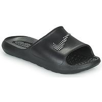 Topánky Ženy športové šľapky Nike W NIKE VICTORI ONE SHWER SLIDE Čierna / Biela