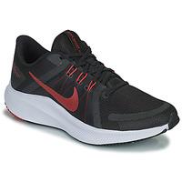 Topánky Muži Bežecká a trailová obuv Nike NIKE QUEST 4 Čierna / Červená