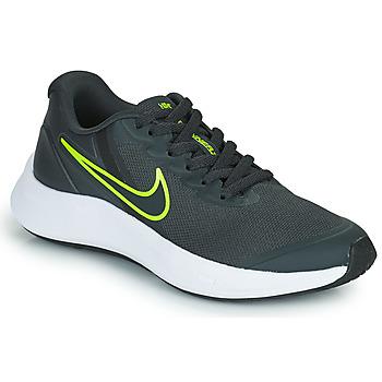 Topánky Deti Bežecká a trailová obuv Nike NIKE STAR RUNNER 3 (GS) Šedá