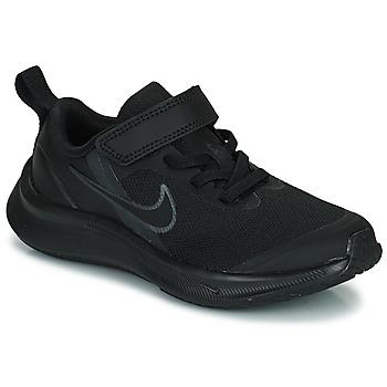 Topánky Deti Bežecká a trailová obuv Nike NIKE STAR RUNNER 3 (PSV) Čierna
