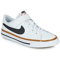 Topánky Deti Nízke tenisky Nike NIKE COURT LEGACY (PSV) Biela / Čierna