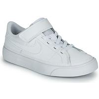 Topánky Deti Nízke tenisky Nike NIKE COURT LEGACY (PSV) Biela