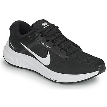 Topánky Muži Bežecká a trailová obuv Nike NIKE AIR ZOOM STRUCTURE 24 Čierna / Biela
