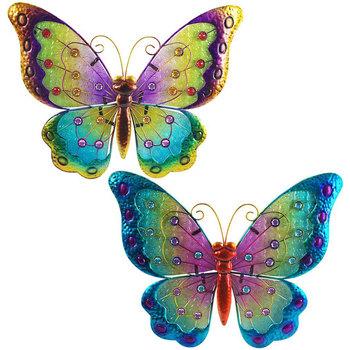 Domov Sochy Signes Grimalt Vitráže Motýľov V Septembri 2U Multicolor