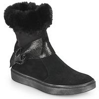Topánky Dievčatá Čižmy do mesta GBB EVELINA Čierna