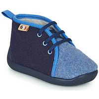 Topánky Deti Papuče GBB APOLOCHON Modrá