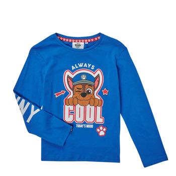 Oblečenie Chlapci Tričká s dlhým rukávom TEAM HEROES  TEE PAW PATROL Modrá