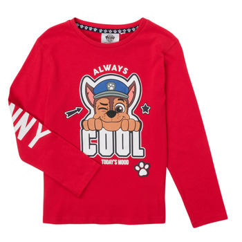 Oblečenie Chlapci Tričká s dlhým rukávom TEAM HEROES  TEE PAW PATROL Červená
