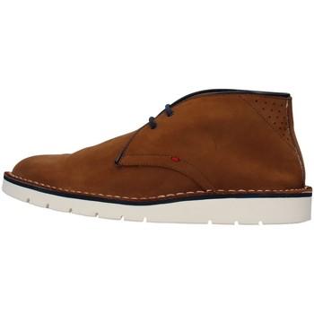 Topánky Muži Polokozačky Re Blu' BK112 BROWN