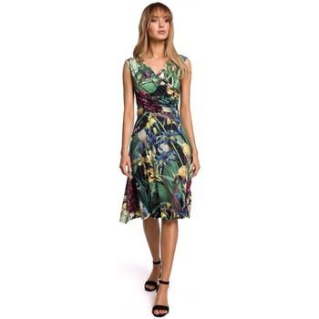 Oblečenie Ženy Krátke šaty Moe M499 Šaty s potlačou - model 2