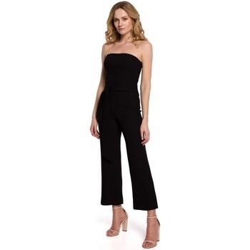 Oblečenie Ženy Módne overaly Makover K045 Kombinéza Bandeau top - čierna