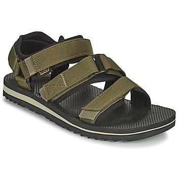 Topánky Muži Sandále Teva M Cross Strap Trail DARK OLIVE Kaki