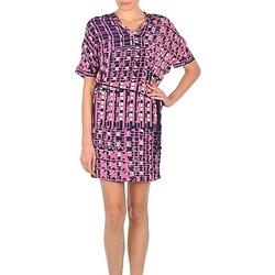 Oblečenie Ženy Krátke šaty Stella Forest YRO059 Námornícka modrá / Ružová