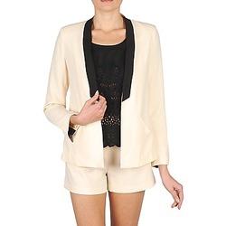 Oblečenie Ženy Saká a blejzre Stella Forest YVE005 Krémová