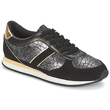 Topánky Ženy Nízke tenisky Balsamik LILA Čierna / Zlatá