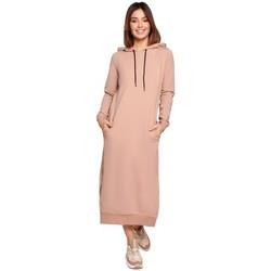 Oblečenie Ženy Dlhé šaty Be K092 Šaty na zaväzovanie na ramenách - čierne