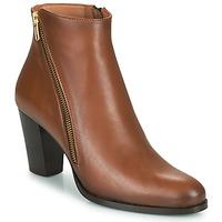 Topánky Ženy Čižmičky Fericelli POMIO Svetlá hnedá