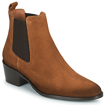 Topánky Ženy Polokozačky Fericelli PAMINA Svetlá hnedá