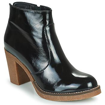 Topánky Ženy Čižmičky Fericelli PARMIN Čierna