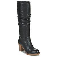 Topánky Ženy Čižmy do mesta Fericelli PISTIL Čierna