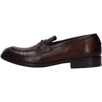 Topánky Muži Mokasíny Re Blu' 7766 BROWN