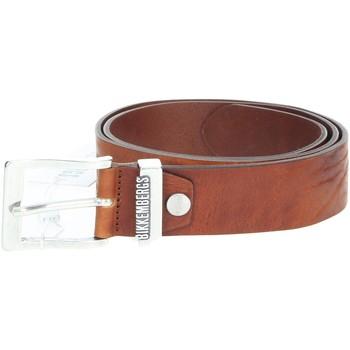 Textilné doplnky Muži Opasky Bikkembergs E35.064 Brown leather