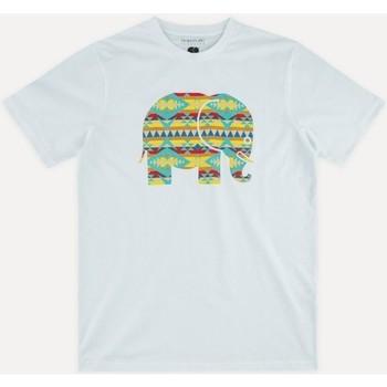 Oblečenie Muži Tričká s krátkym rukávom Trendsplant NAVAJO 029940MNAV Biela